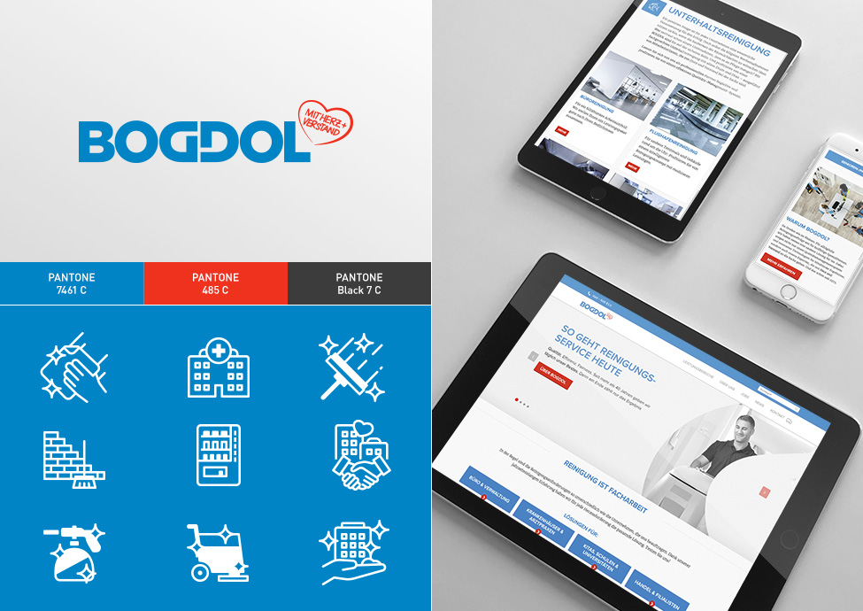 Arbeitsbeispiele | Corporate Design | Kunde Bogdol