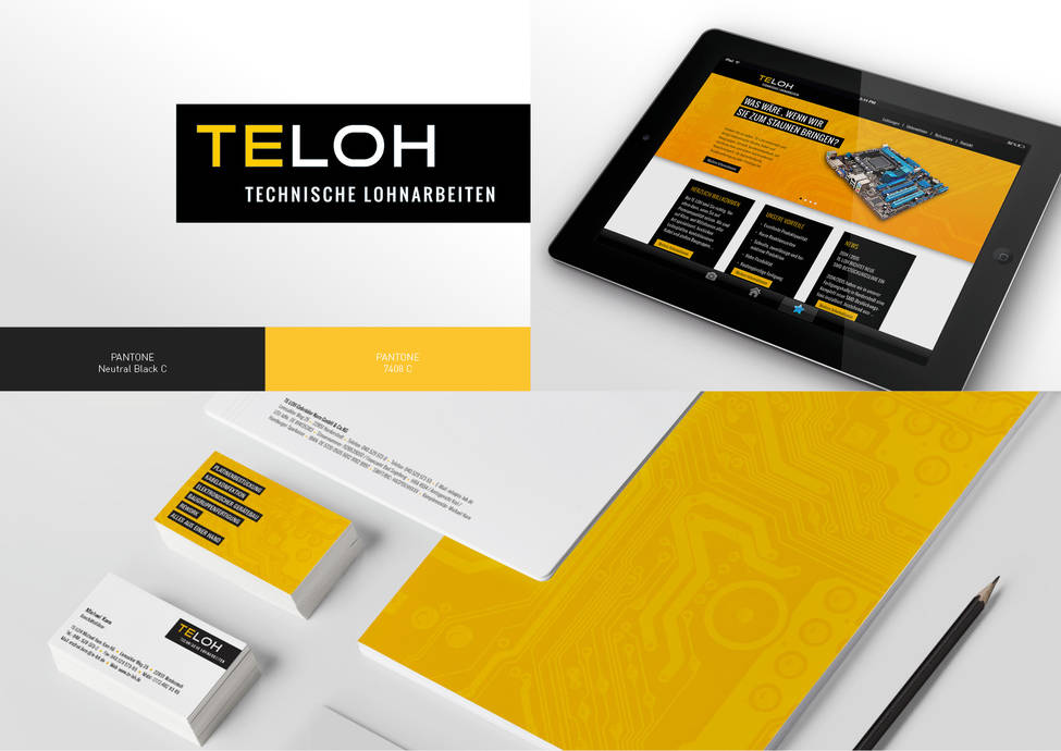 Arbeitsbeispiele | Corporate Design | Kunde TeLoh