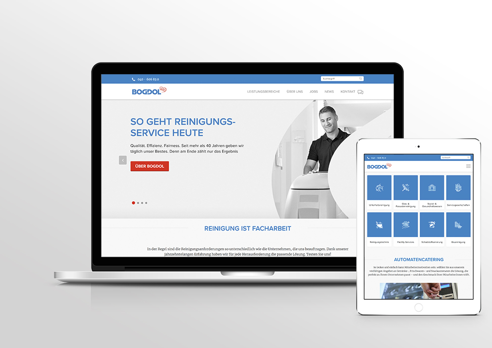Arbeitsbeispiele | Online-Marketing | Kunde Bogdol